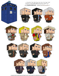 Cubeecraft - Doctor Who