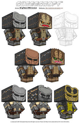 Cubeecraft - Predators