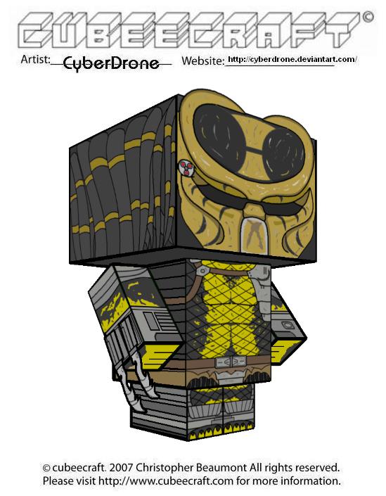 Cubeecraft - WASP Predator by CyberDrone