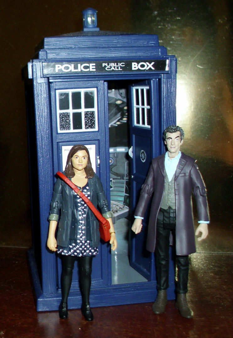 Dr. Who - The 12th Doctor and Clara by CyberDrone