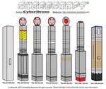 Cubeecraft - The Doctor's Sonic Screwdrivers