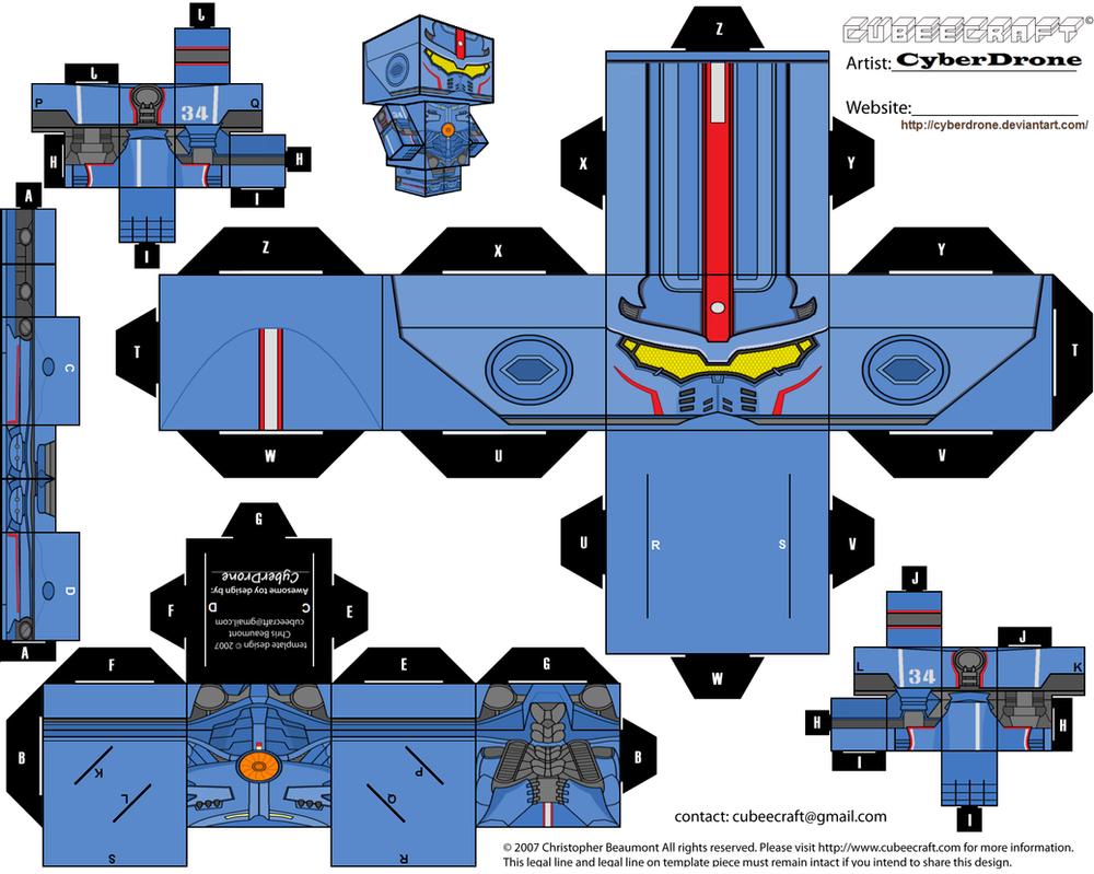 Cubee gipsy danger by cyberdrone on deviantart
