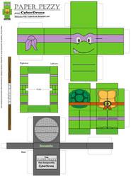 Paper Pezzy- Donatello by CyberDrone