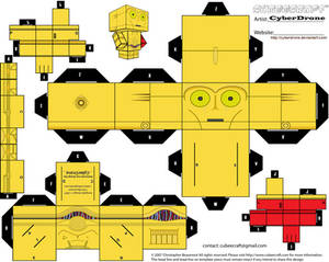Cubee - C-3PO 'The Force Awakens'