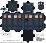 Cubee - TARDIS (13th Doctor)