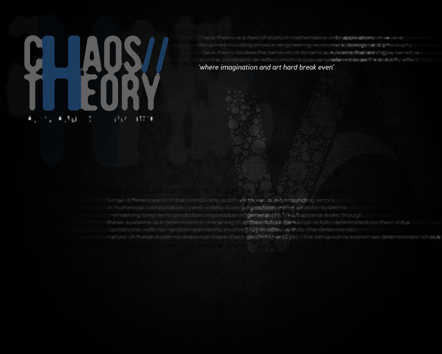 CHAOS THEORY WALLPAPER by KaioAW on DeviantArt