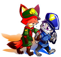 Young Judy Defends Young Nick