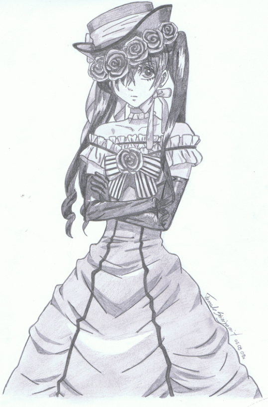 -Kuro- Little Robin by FemaleShinigami