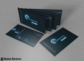 Company Business Card Design by ArenaReviews