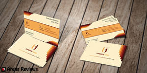 Insurance Business Card by ArenaReviews