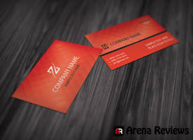Zenith Business Card Template by ArenaReviews