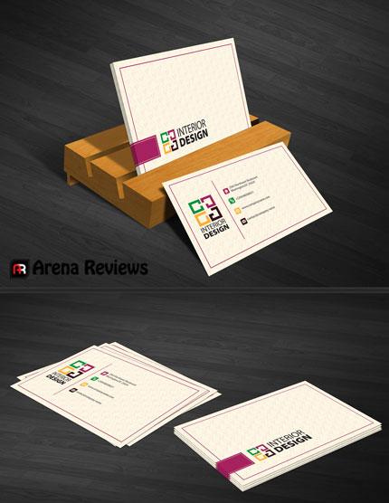 Interior Design Business Card By ArenaReviews On DeviantART
