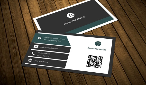 Modern Corporate Business Card Template by ArenaReviews