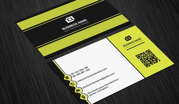 Unique Modern Scratch Business Card Template by ArenaReviews on ...