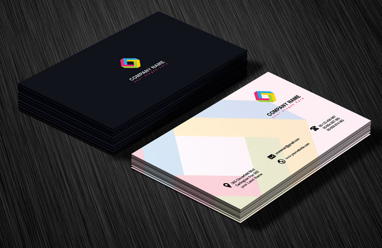 professional business card design template by arenareviews on