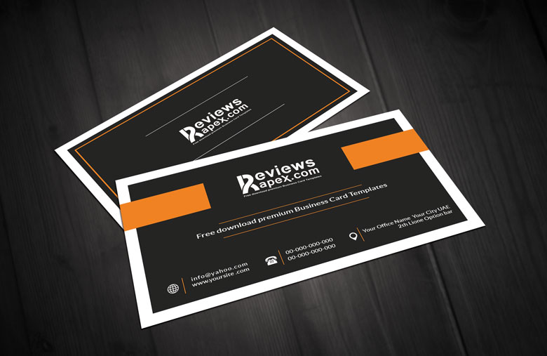 Vintage black business card template by arenareviews on deviantart vintage black business card template by arenareviews reheart Gallery