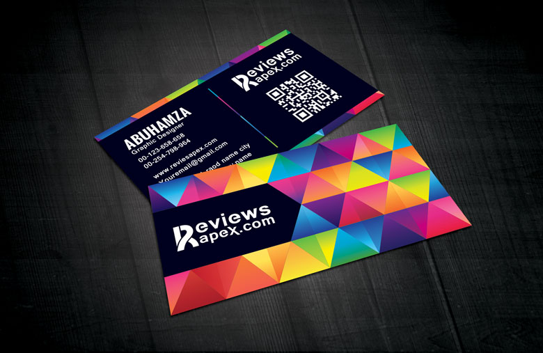 Modern Graphic Design Business Card Template by