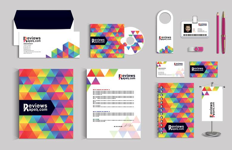 modern graphic stationery design template by arenareviews on deviantart