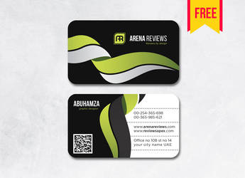 Latest Black Business Card Free