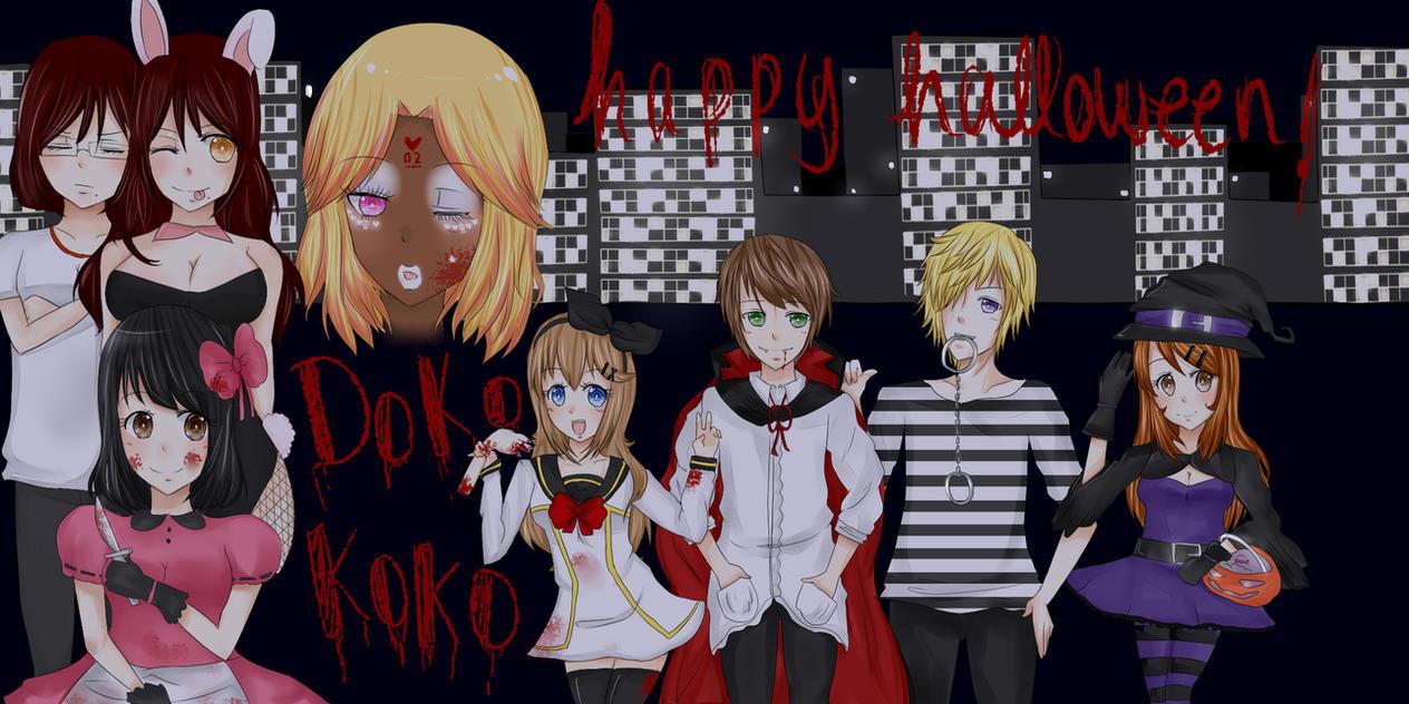Koko Halloween : Doko Koko  HAPPY HALLOWEEN D by Maran