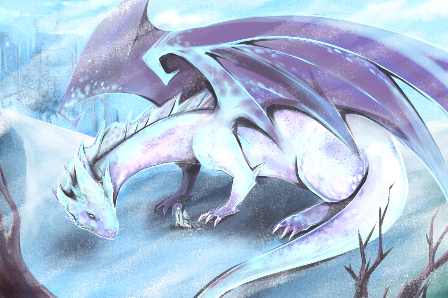 Images of Female Ice Dragon Names - #rock-cafe