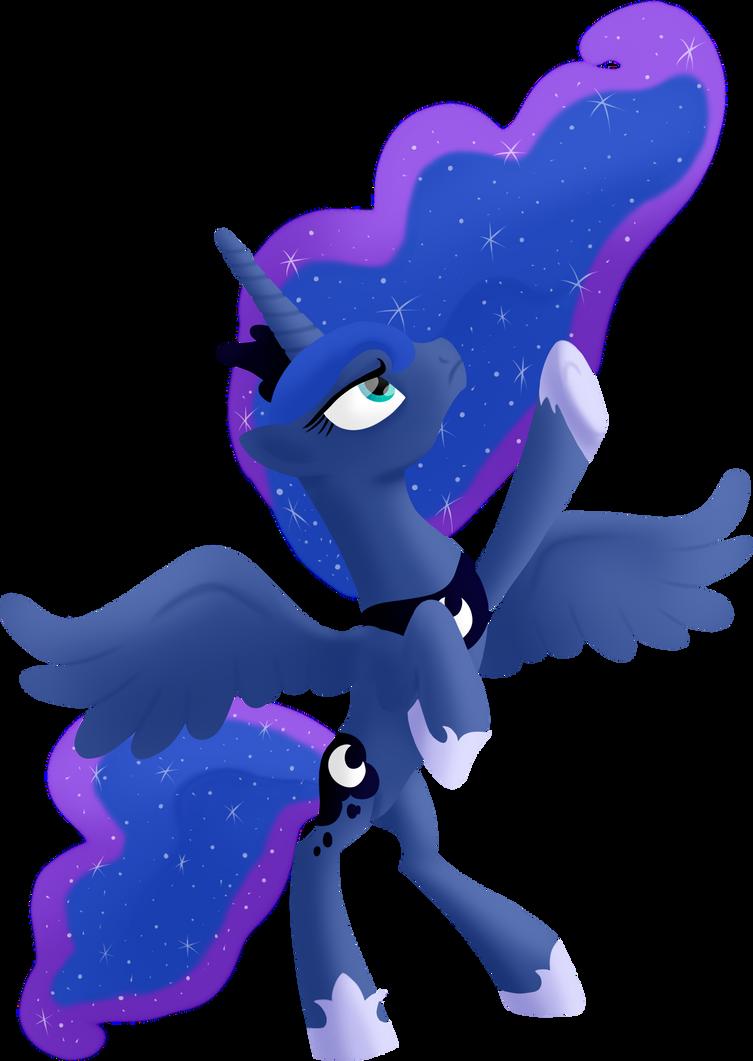Luna  by Heyan-Renne