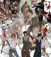 Happy birthday The Evil Within ! by Vagues-en-Larmes