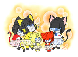 knickers kitties by umitaro