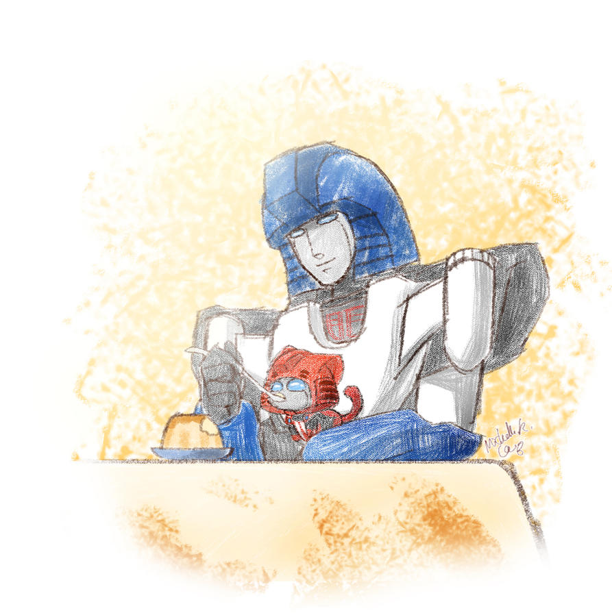 energon pudding time by umitaro