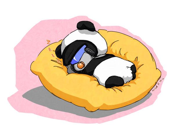 baby panda jazzy by umitaro