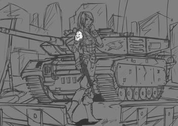 army girl by abdulwafi