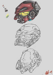 Helmet by abdulwafi