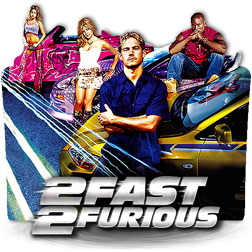 2 Fast 2 Furious 2003 V1 Movie Folder Icon By 6oomoonryon9 On Deviantart