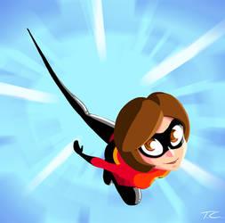 Incredibles Fanart - Elastigir by TreasureFanboy