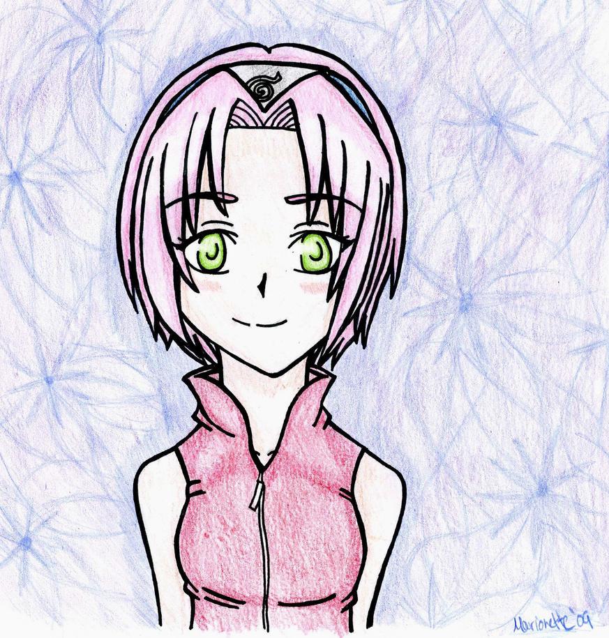 Sakura Haruno by Marionette56