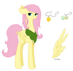DE Fluttershy by MagicUniClaws