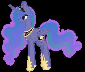 Aurora Borealis - MLP Fusion by MagicUniClaws