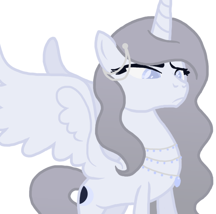 Luna Redesign in MLP Style by MagicUniClaws