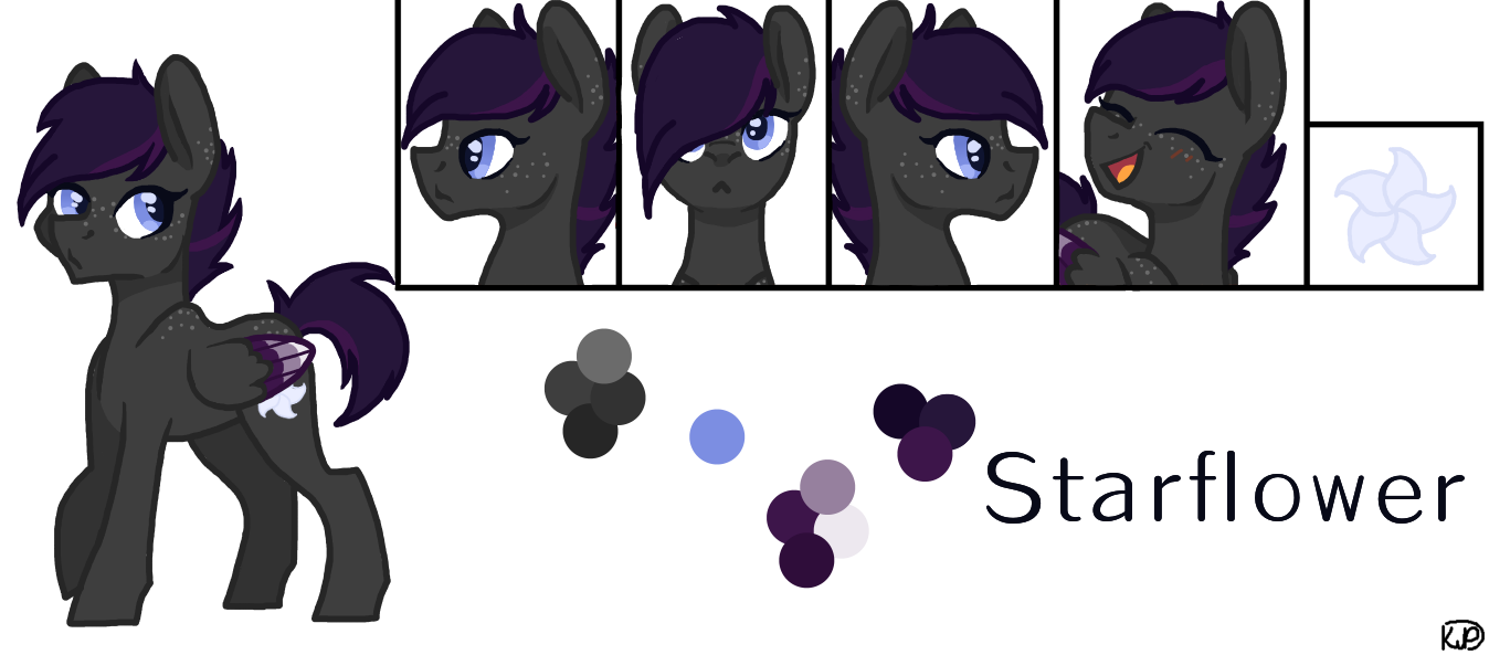 Starflower [OC] by MagicUniClaws