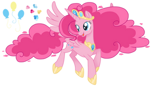 Pinkie, But She's An Alicorn