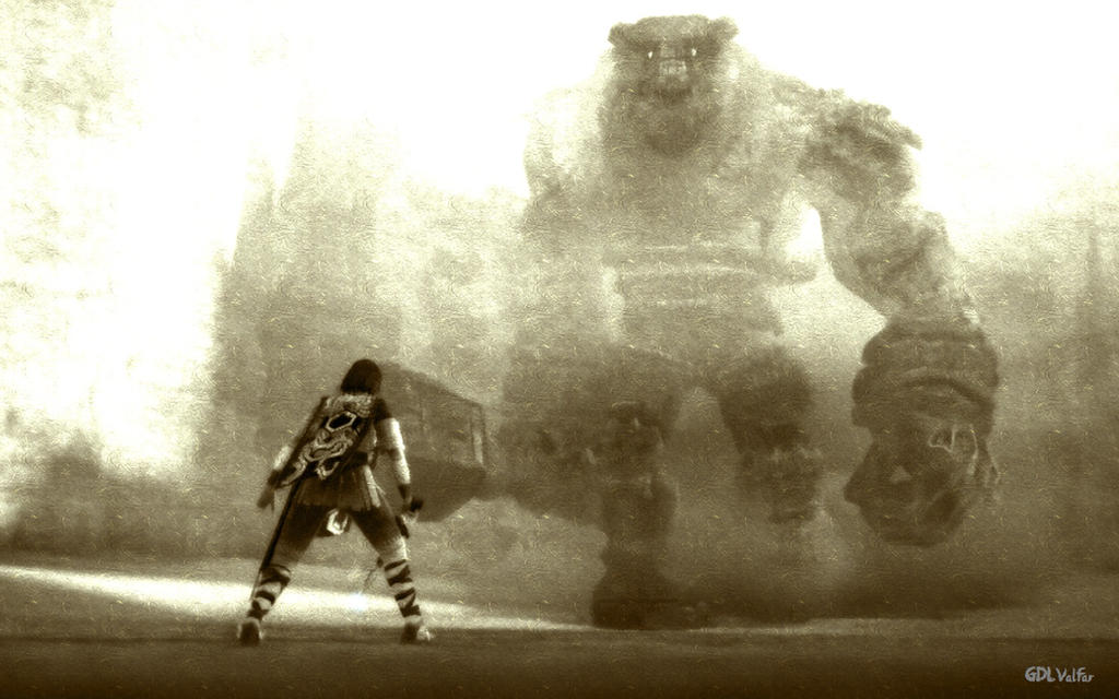Shadow Of The Colossus - 1st Colossus: Valus. by GDLValfar ...