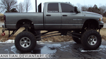 `STOCK - lifted truck 1.