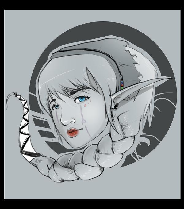 Elf by Ka-Xanx21