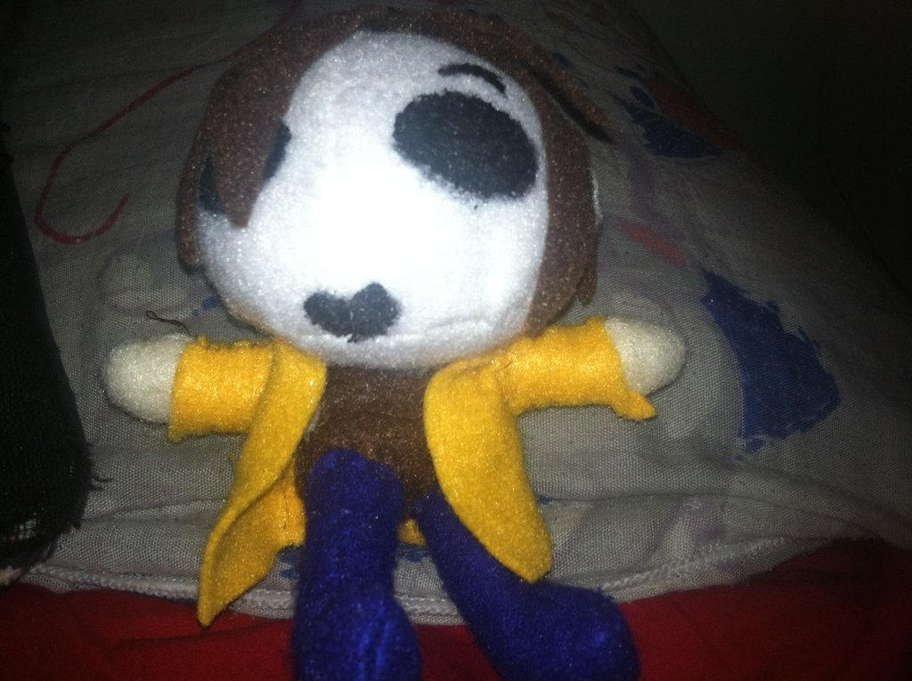 Masky Plushie By Centheny On DeviantArt
