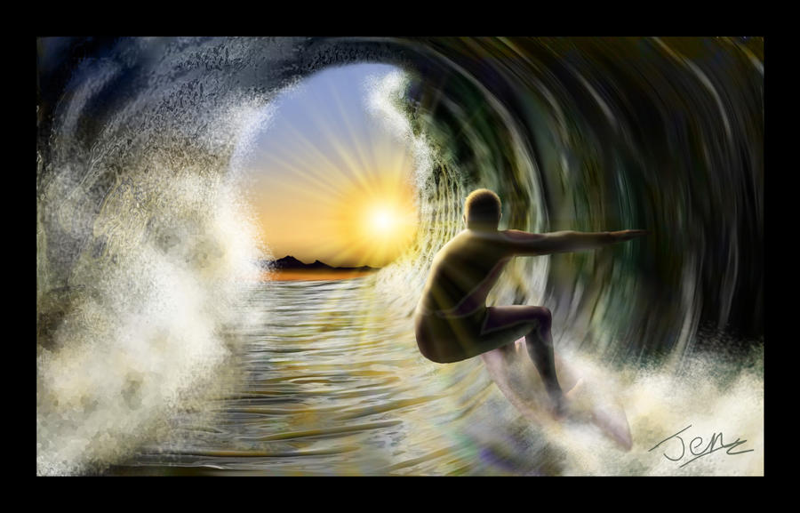 Surfer by nunt