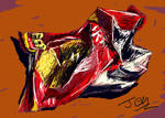 crisp packet speedpaint