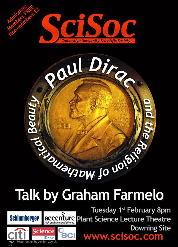 Graham Farmelo Talk by nunt
