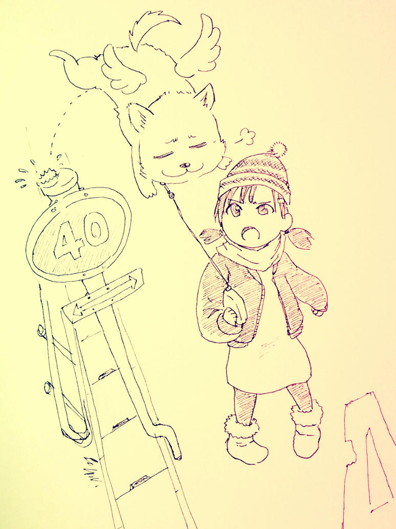 Walking a dog by RockokuShioya