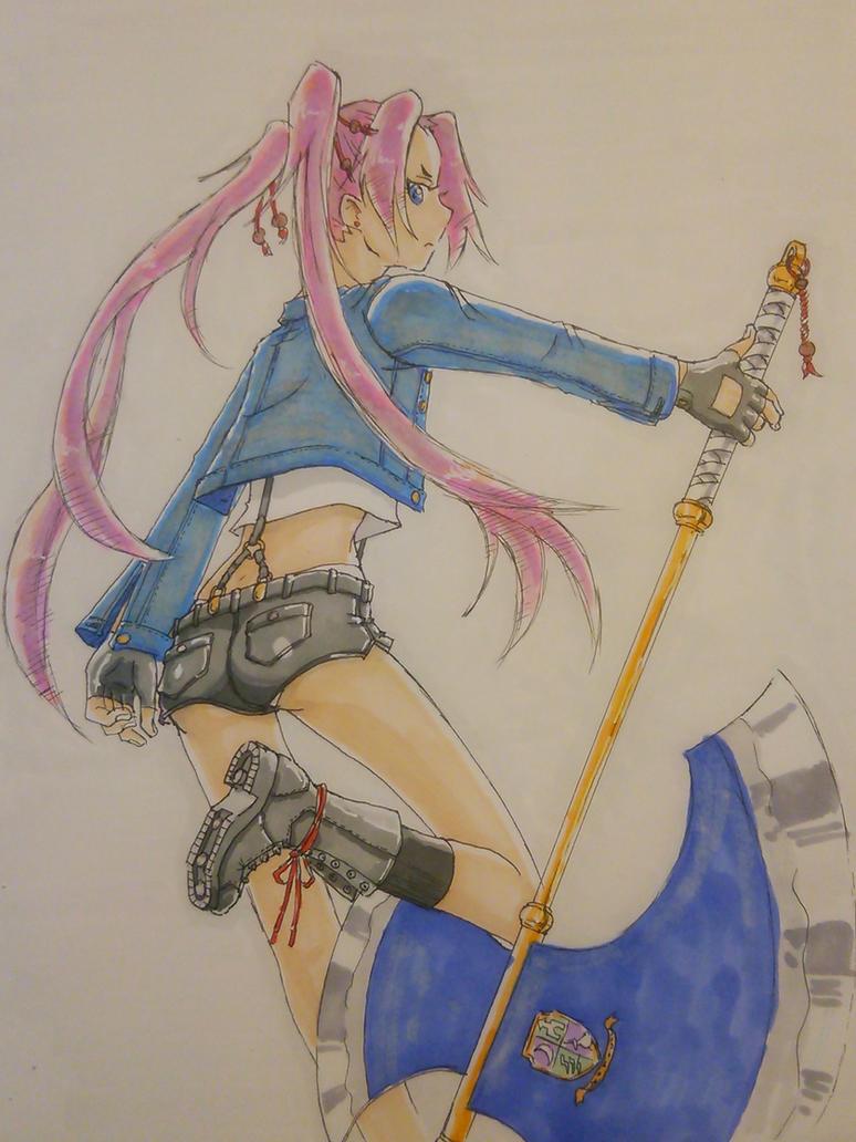 Battle Axe by RockokuShioya