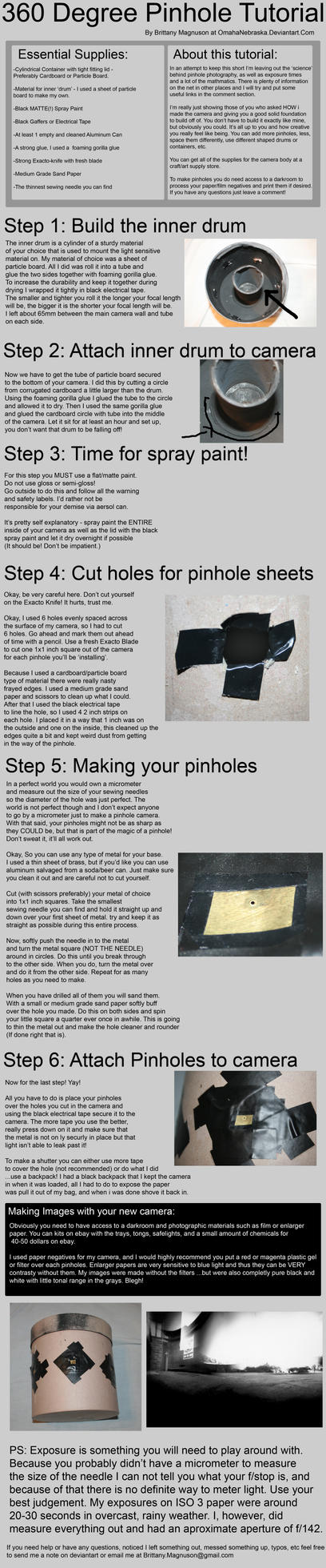 360 PINHOLE TUTORIAL by OmahaNebraska